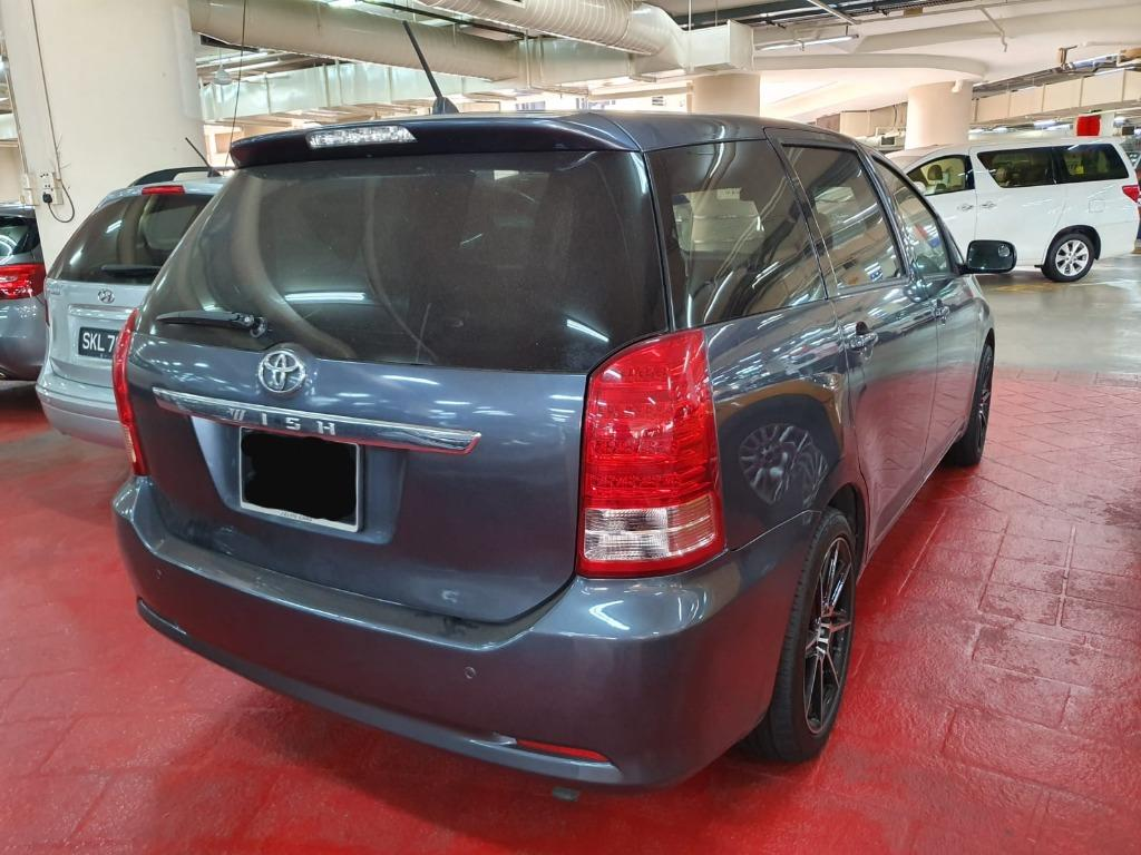 """Toyota Wish 1.8A for Rental (Click on """"read more"""" for more details)"""