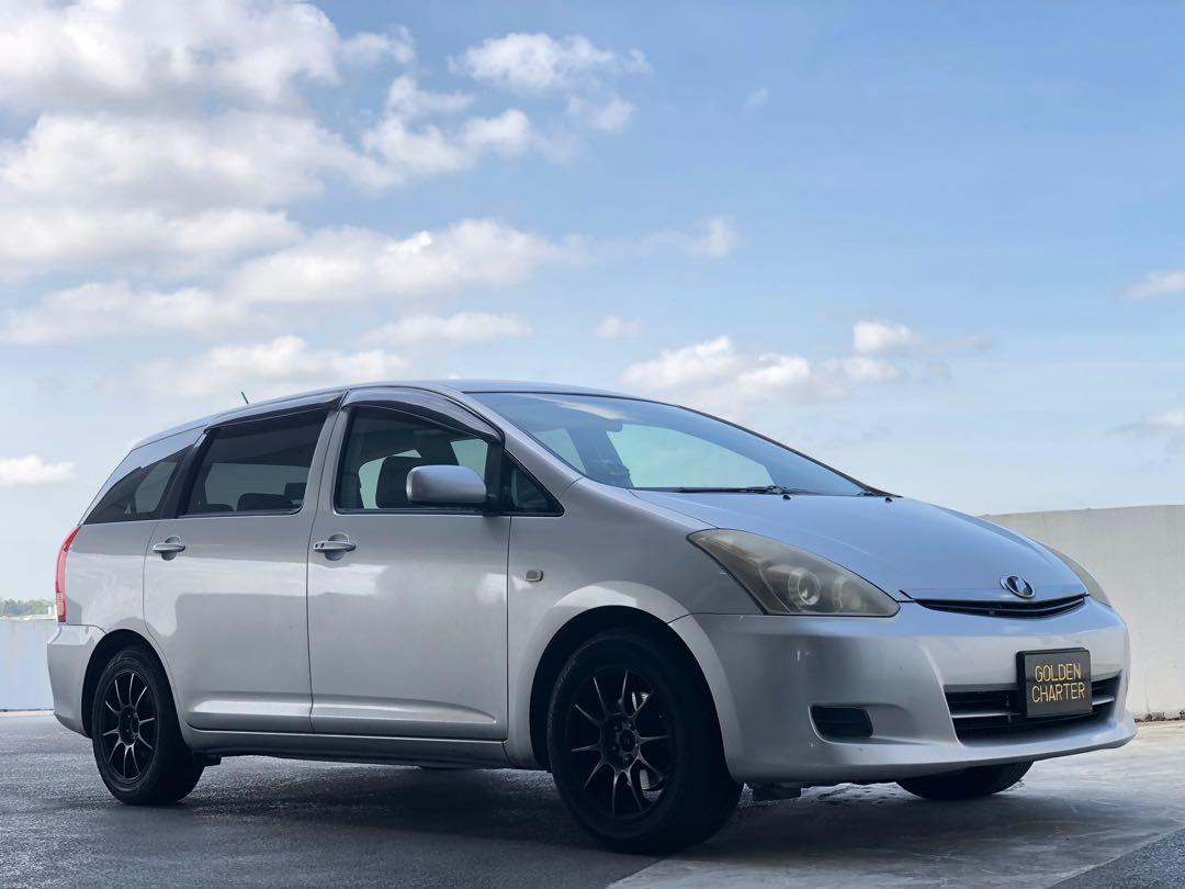 Toyota Wish For Rent ! Gojek I Grab I Personal I PHV