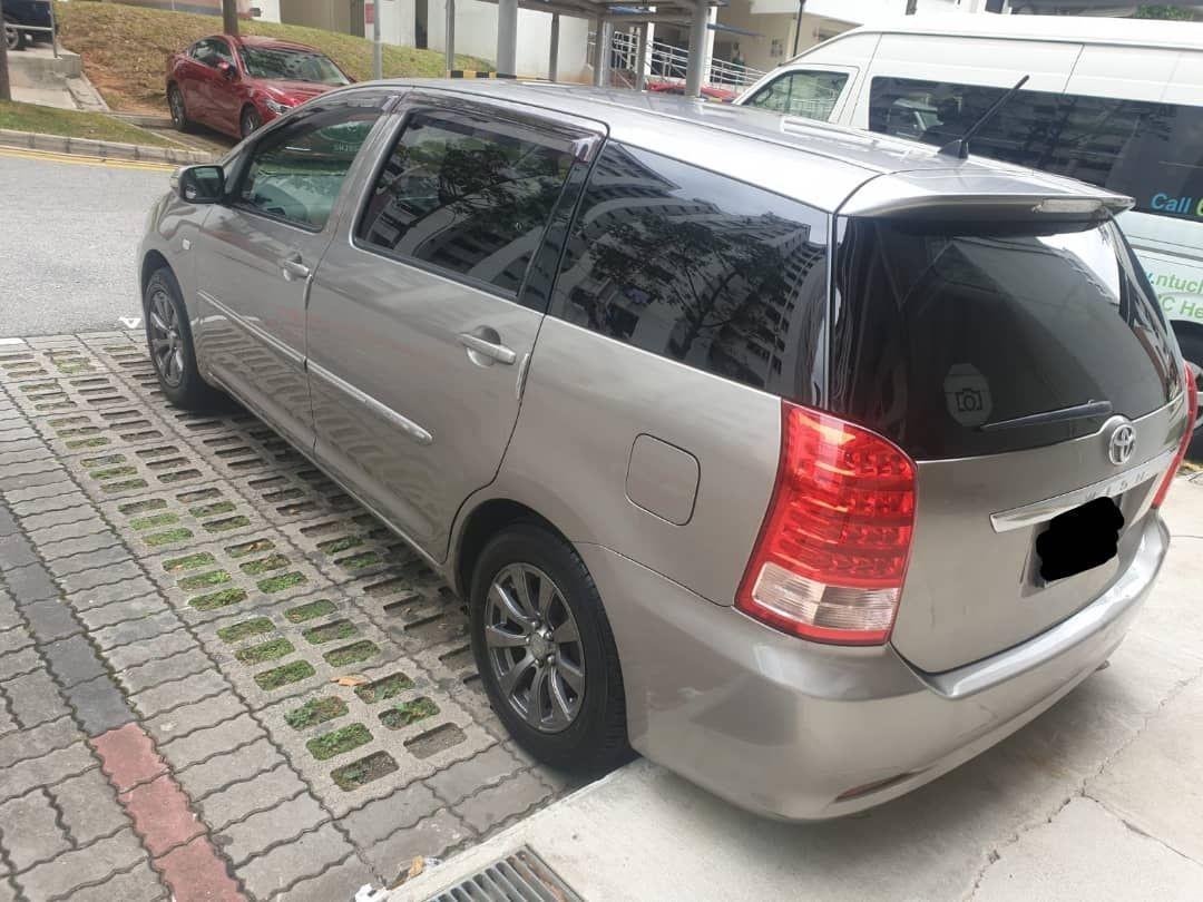 toyota wish full spec (SG CAR COMPLETE DOCUMENT, HALAL DI ATAS JALAN RAYA MALAYSIA)