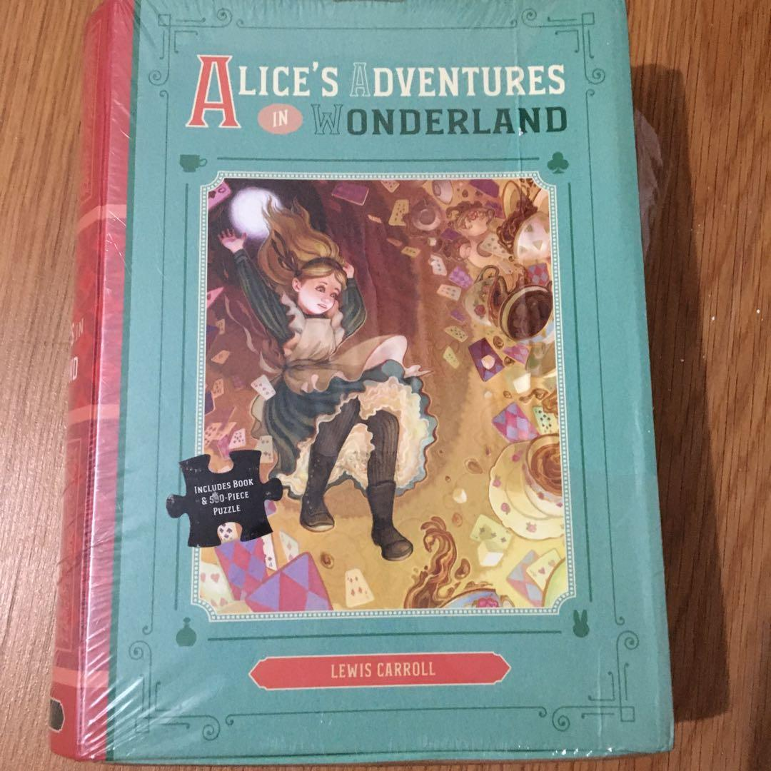 TP/Box Set (book/500 puzzle masterpieces) • Alice's Adventures in Wonderland • Beauty and the Beast