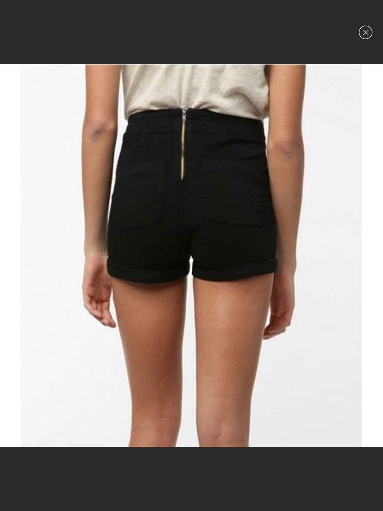 Urban outfitter, Cooperitive navy high rise shorts SZ0