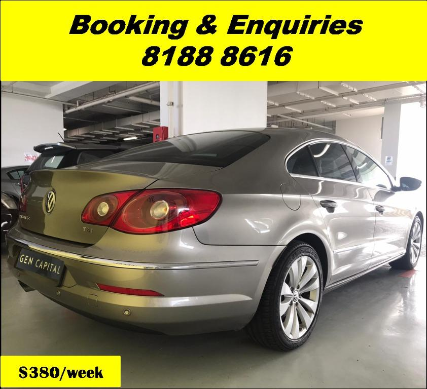 Volkswagen Passat Cheapest rental in town with just $500 Deposit driveoff immediately. Book a car in advance to enjoy attractive rates now!! Whatsapp 8188 8616.