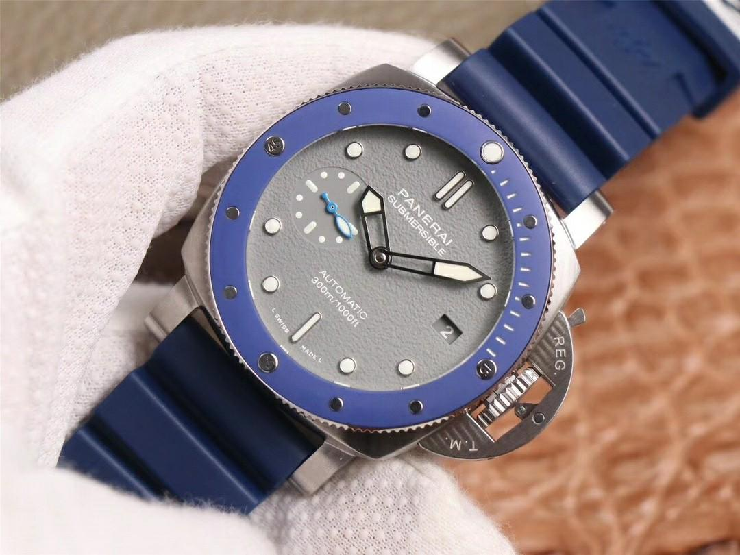 VS Factory Panerai Luminor Marina Submersible PAM959 SIHH2019 SS Grey Dial Swiss P9010