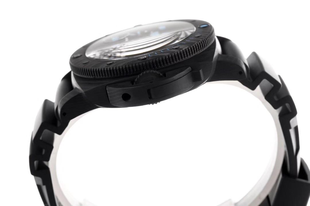 VSF Panerai Luminor Submersible PAM960 Forged Carbon Black Dial Swiss P9010