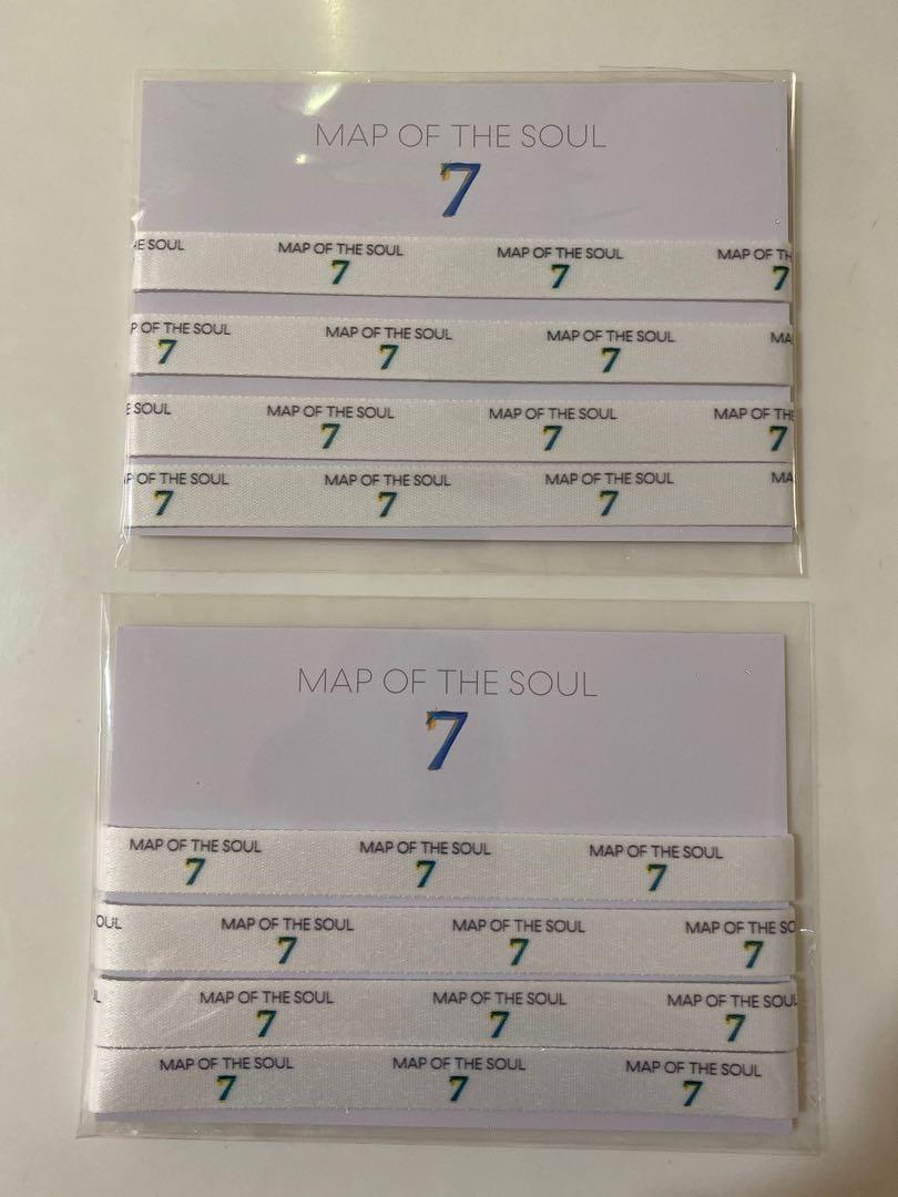[WTS] BTS MAP OF THE SOUL 7 ALBUM YES24 PREORDER BENEFIT GIFT LANYARD