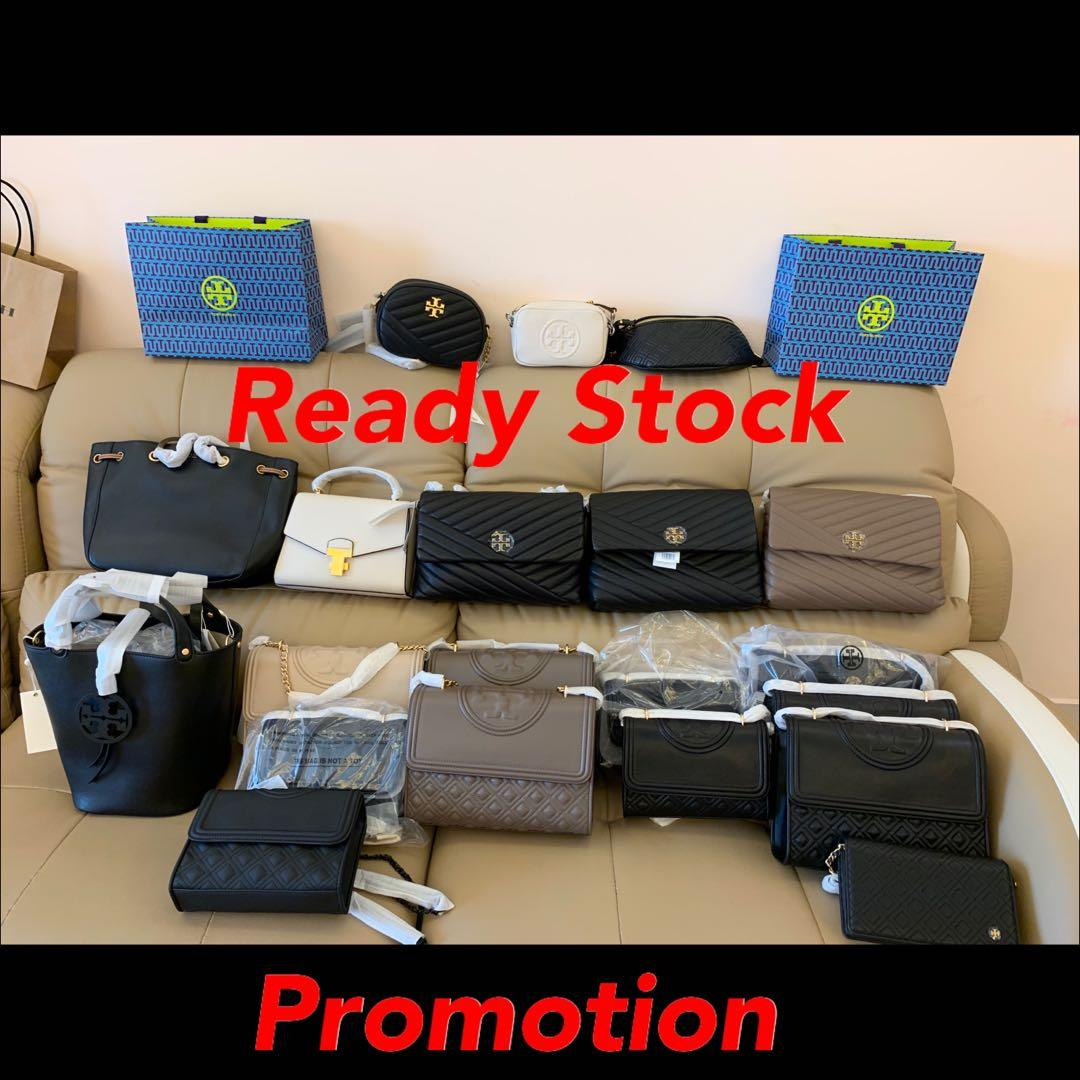 (06/03/20)Ready Stock authentic coach Tory Burch sling bag wallet purse clutch backpack belt bag wrisket lanyard