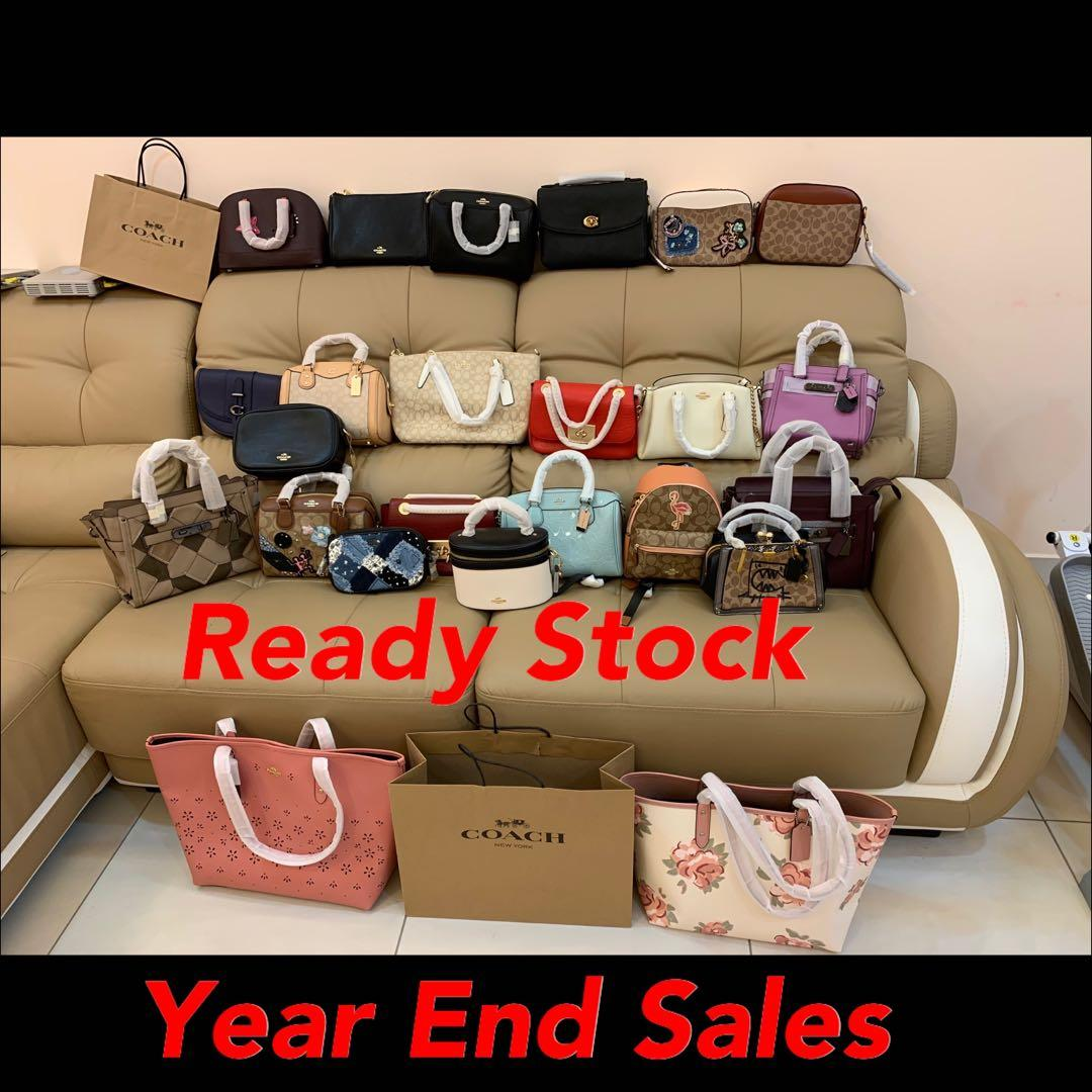 (06/03/20)Ready Stock authentic coach Tory Burch sling bag wallet purse clutch backpack belt bag wrisket lanyard