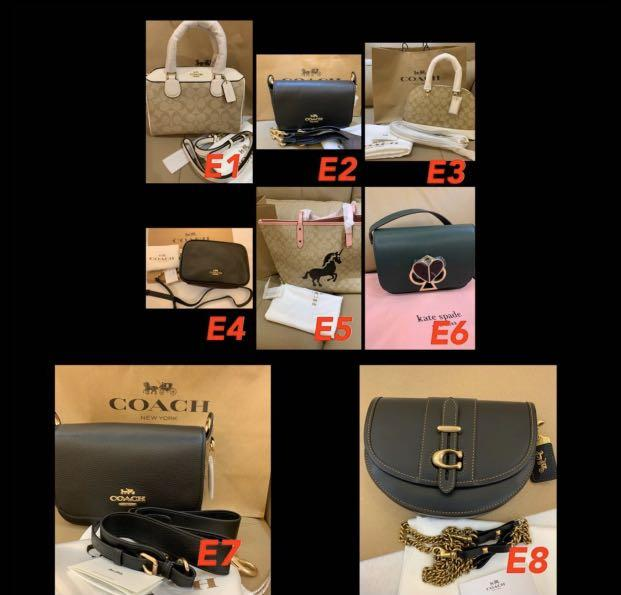 (08/03/20)Ready Stock authentic coach women bag sling bag wallet purse clutch camera bucket coach bag backpack Kate spade wallet holder lanyard Wrislet Kate spade bag Tory Burch watch Marc Jacobs wristlet