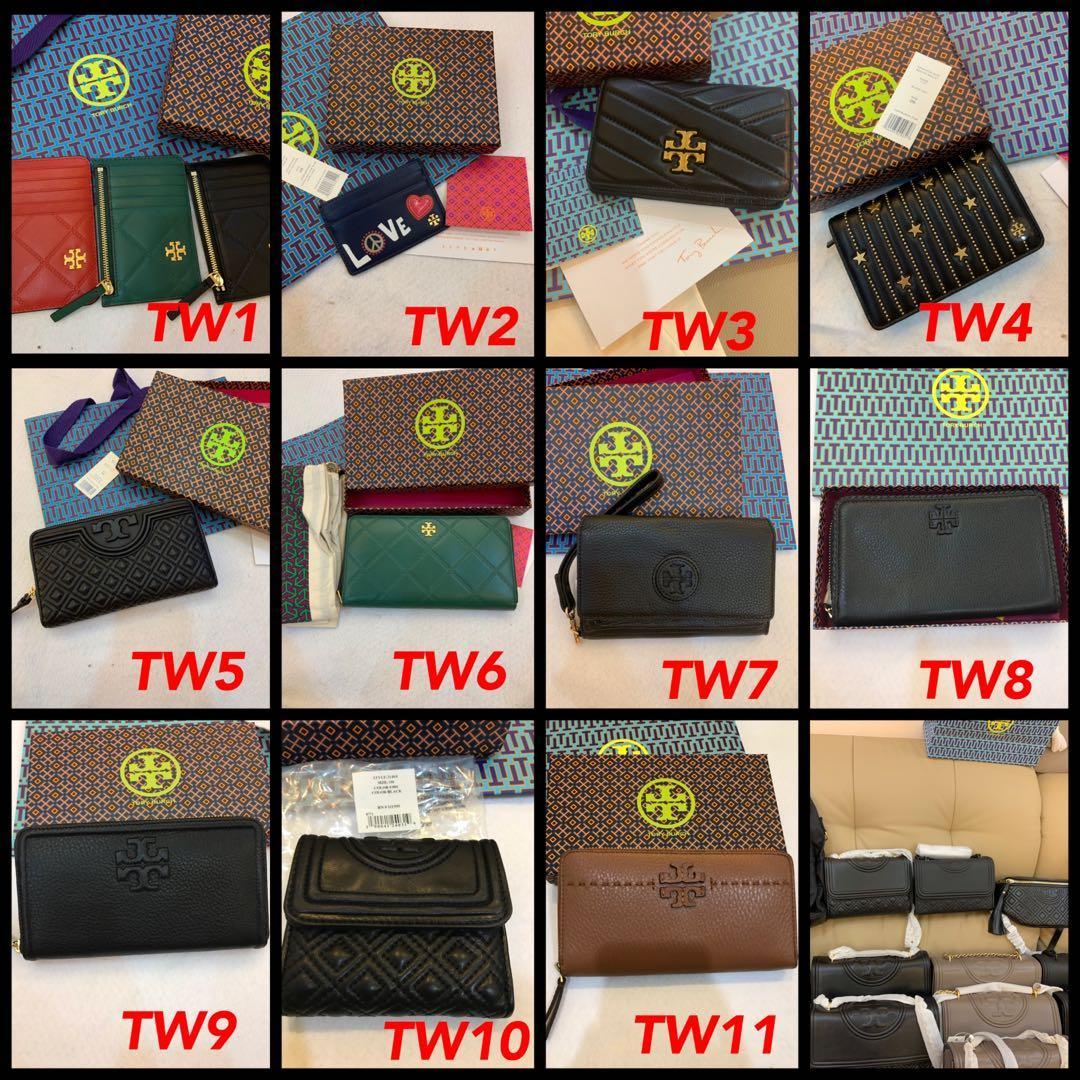 (08/03/20)ready  stock bag n wallet purse card holder coach Tory Burch sling bag lanyard card holder wallet purse