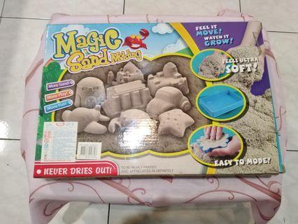 magic sand molding