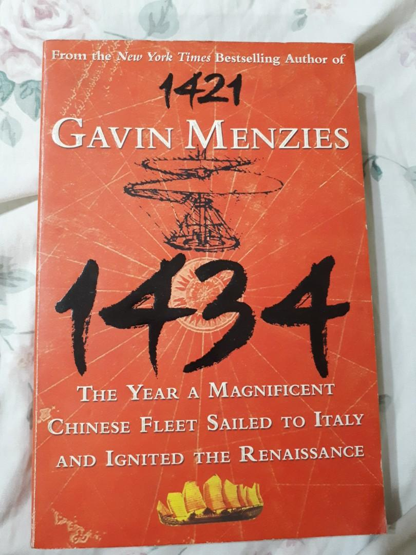 1434 Gavin Mendez Book Chinese Fleet Sailed to Italy and ignited the Renaissance