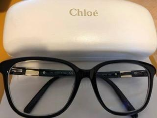 Chloe Eyeglasses frame—- Black