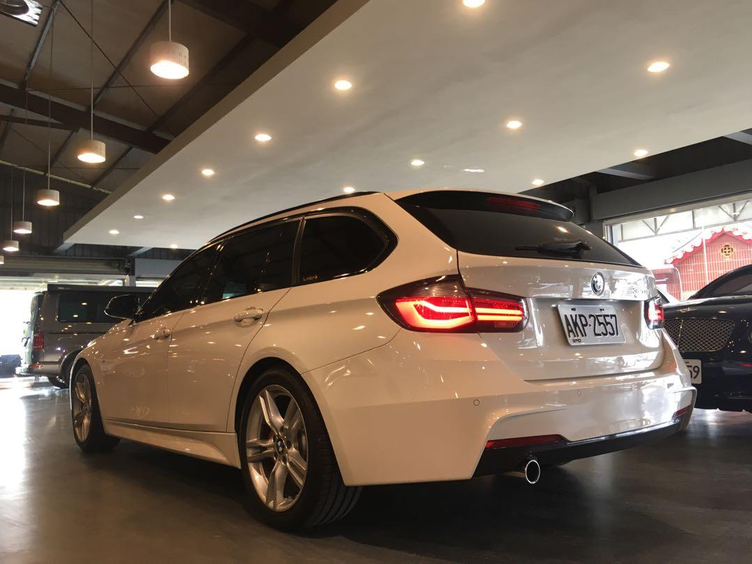 2015 BMW 3-Series Touring 320i M Sport Package M套件·羈皮內裝·全景天窗