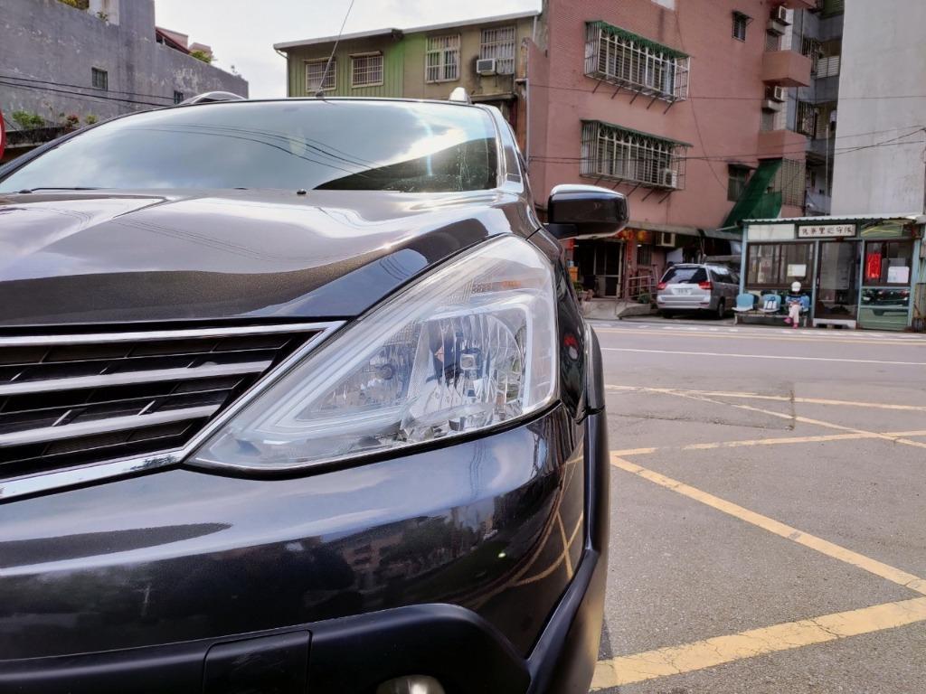 全台最便宜 實車實價 正2014 NISSAN LIVINA 1.6頂級灰色 全額貸款 找錢車 非自售 一手車