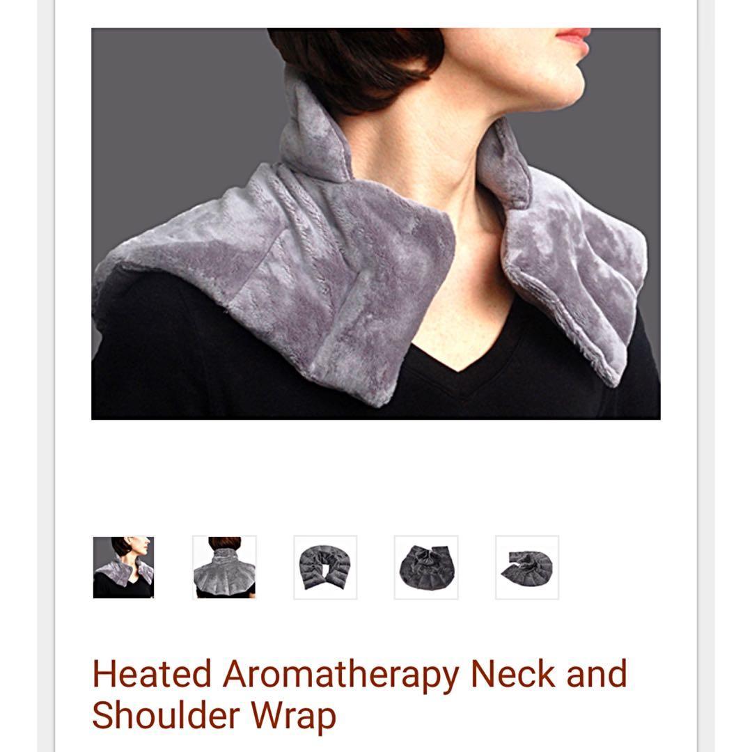 Brand new (sealed) neck & shoulder aromatherapy wrap