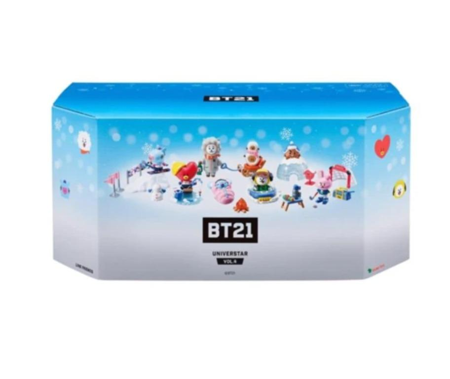 BTS BT21 Official Goods Collectible Figure Blind Pack Vol4 Winter Series