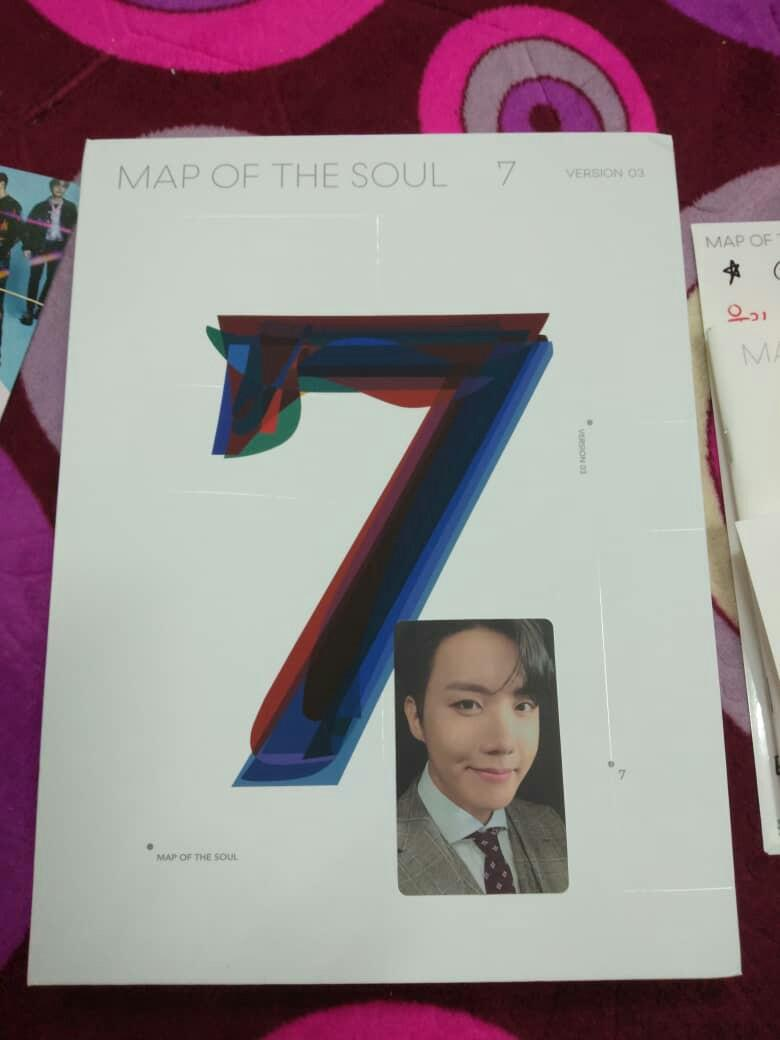 BTS Full set Map Of the Soul:7 Ver 3 Unsealed with Jhope pc