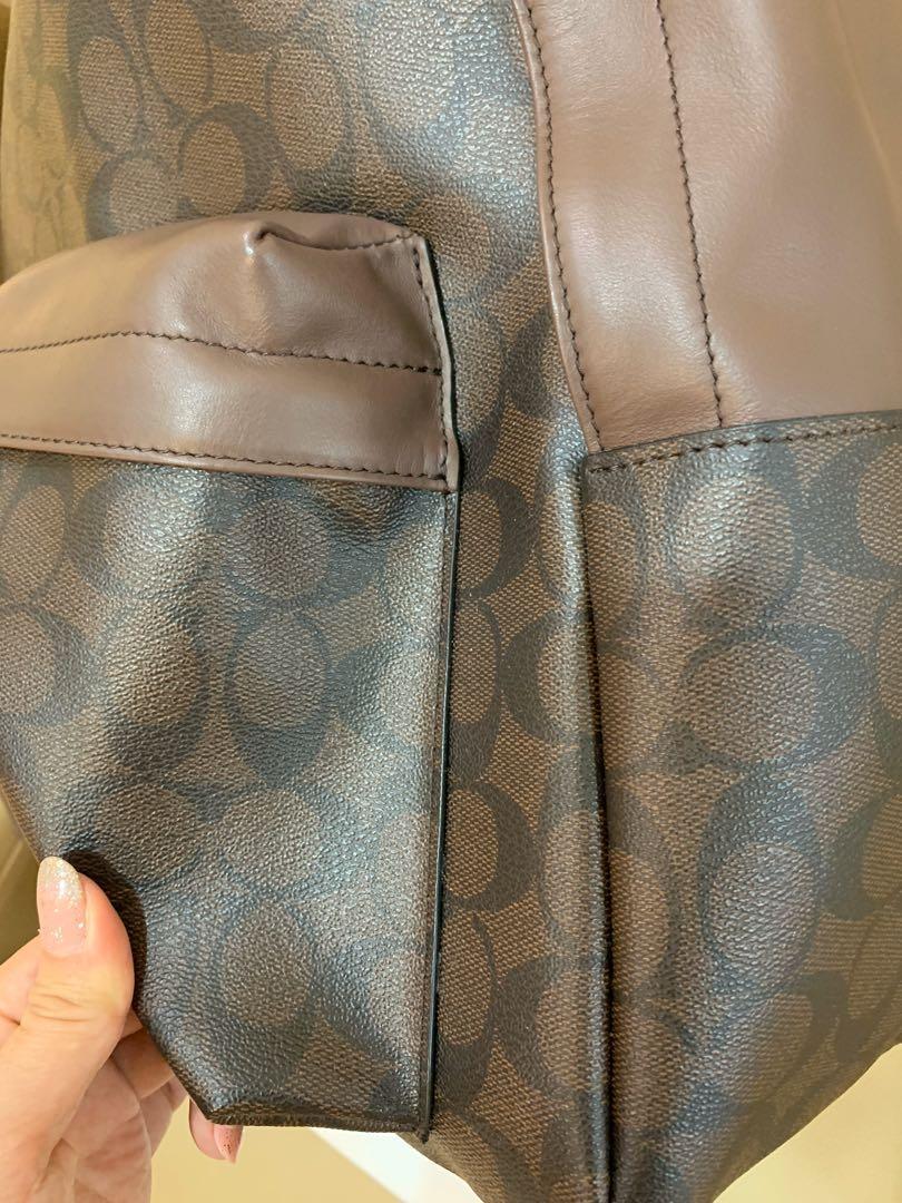 (Clearance)Ready Stock Authentic coach men backpack monogram traveller bag laptop bag hbbbnj