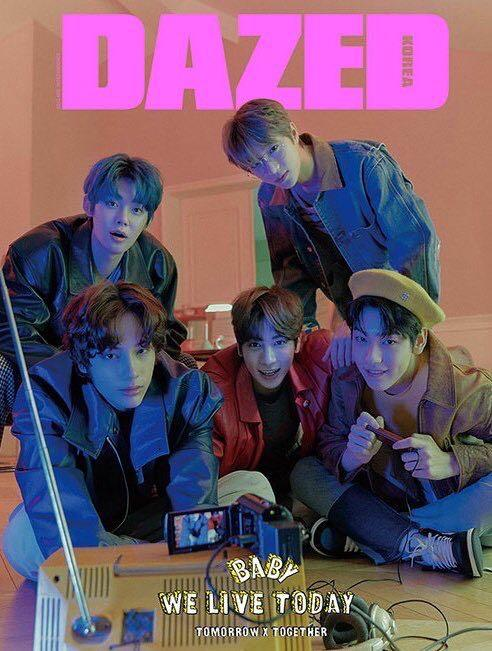 DAZED & CONFUSED KOREA 2020 Spring Edition [COVER : TXT][Issue: TXT, Cherry Bullet, Rocket Punch