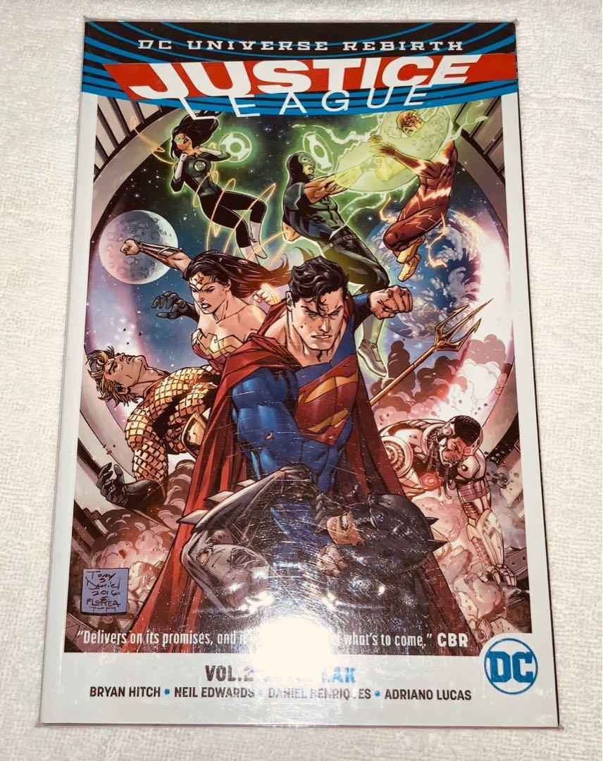 DC Comics DC Universe Rebirth Justice League Volume 1-5 Graphic Novel Collection Set