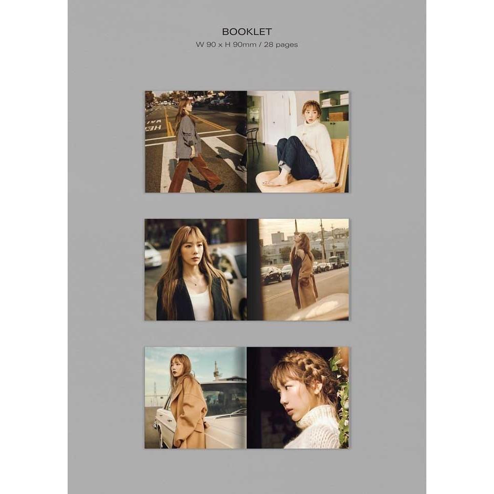 [KIHNO] Taeyeon The Second Album Purpose Repackage