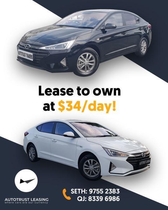 Lease To Own Hyundai Avante S