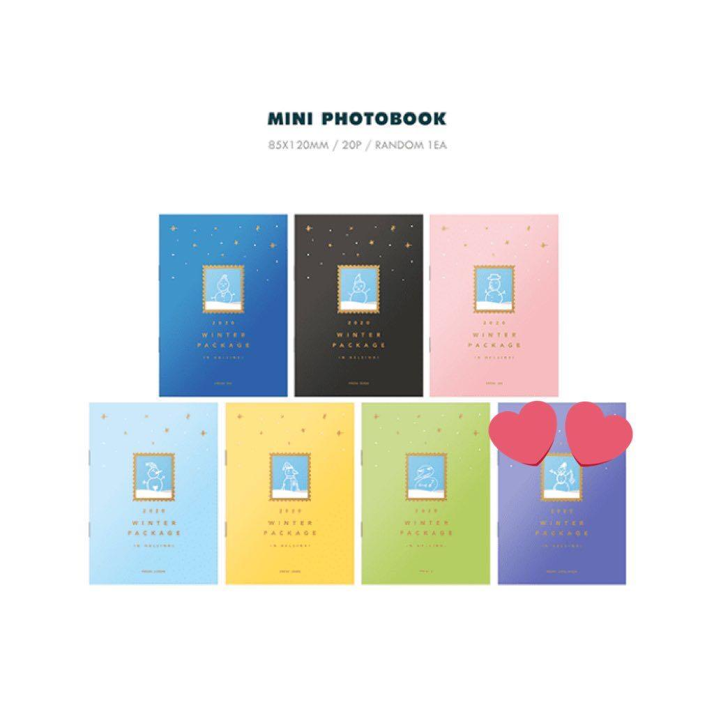 [LF/WTB] Jungkook Mini Photobook - BTS 2020 Winter Package in Helsinki