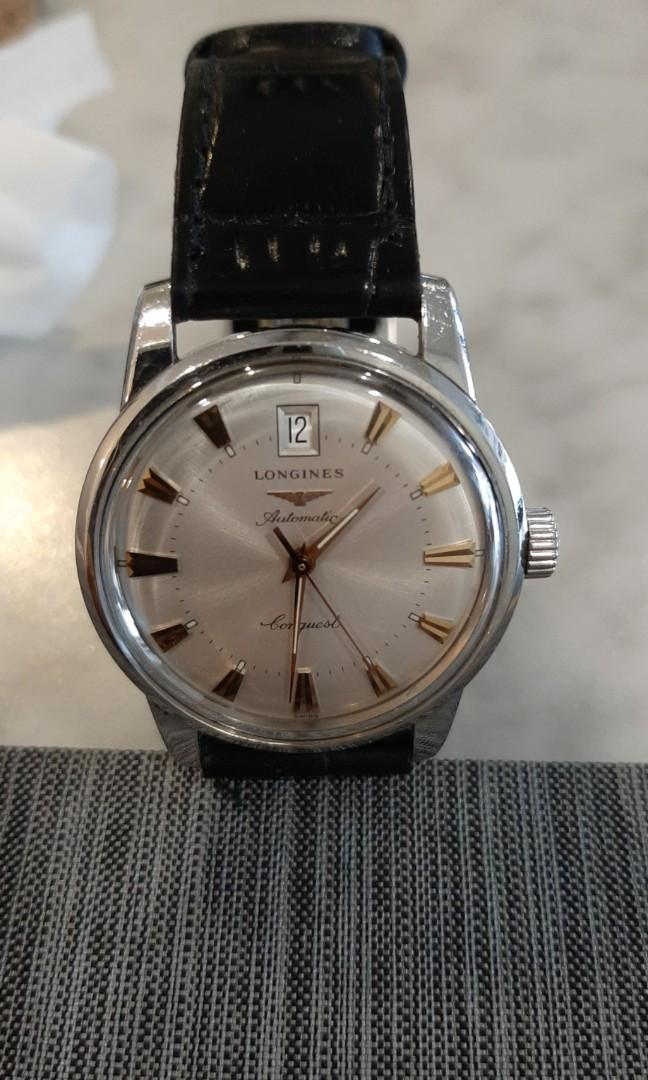Longines 36mm men's watch,100% original n already overhauled n polish like new condition...😘🤩🥰😍