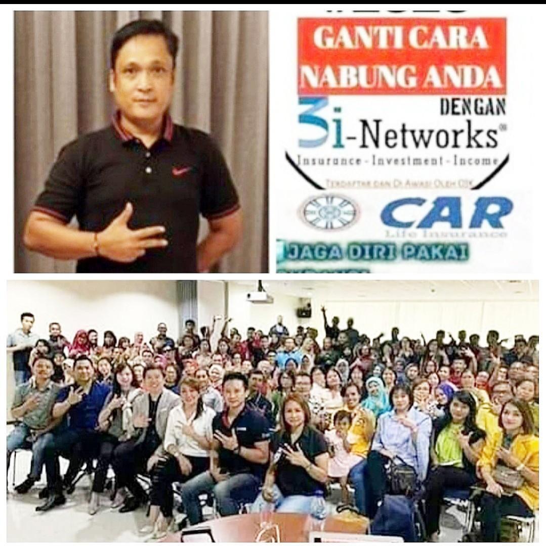 Mari bergabung dgn 3i Networks dari CAR,  bisnis simpel hasil dahsyat, 3 keuntungan  Insurance, Investasi, Income,