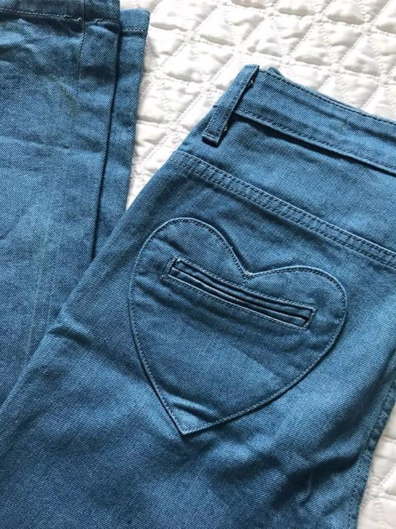 NEW 18th Amendment Designer Jeans with Heart Pockets -24