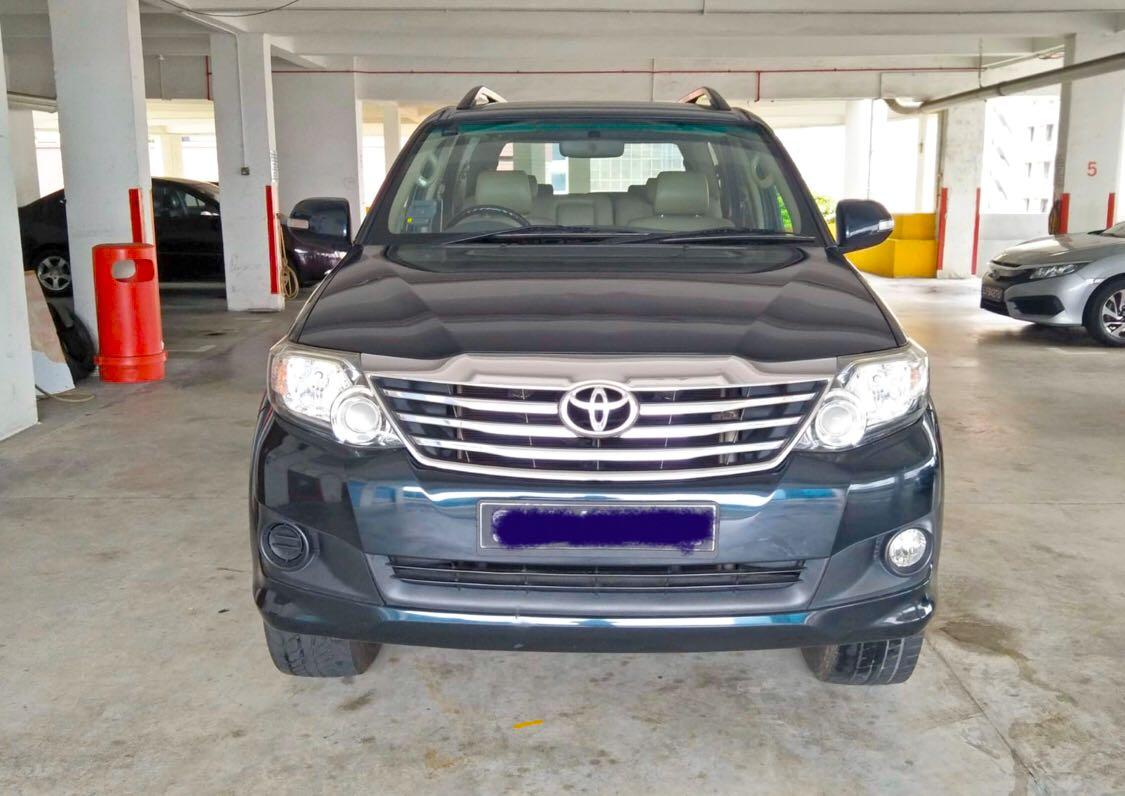 New Cars only:- 7 Seaters SUV Full Size Rental