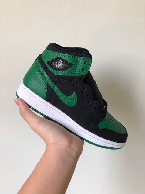 """Nike Air Jordan 1 """"Pine Green"""", Men's"""