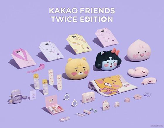 [Ready Stock] Kakao Friends Twice Edition Official Merchandise