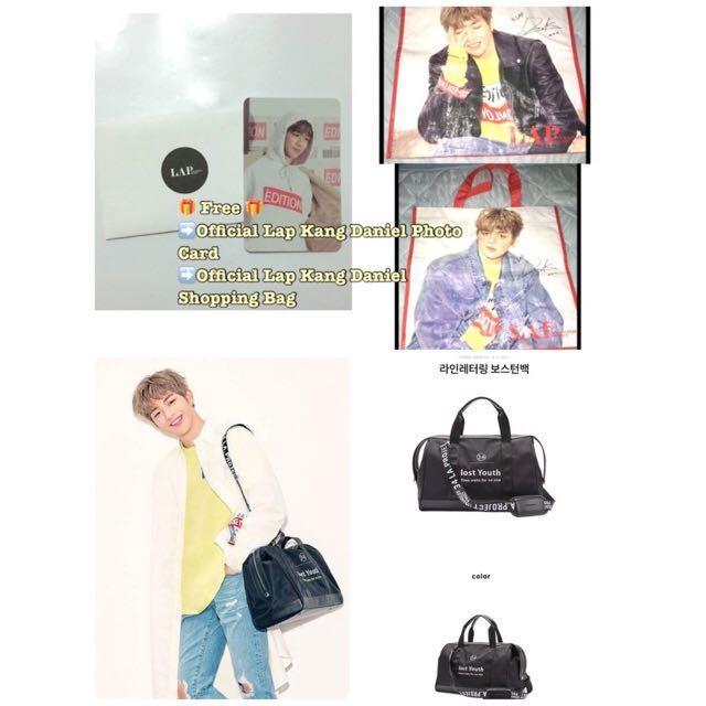 Ready Stock Kang Daniel Official Lap Travel Bag🎁Free🎁Lap Official PC & Shopping Bag