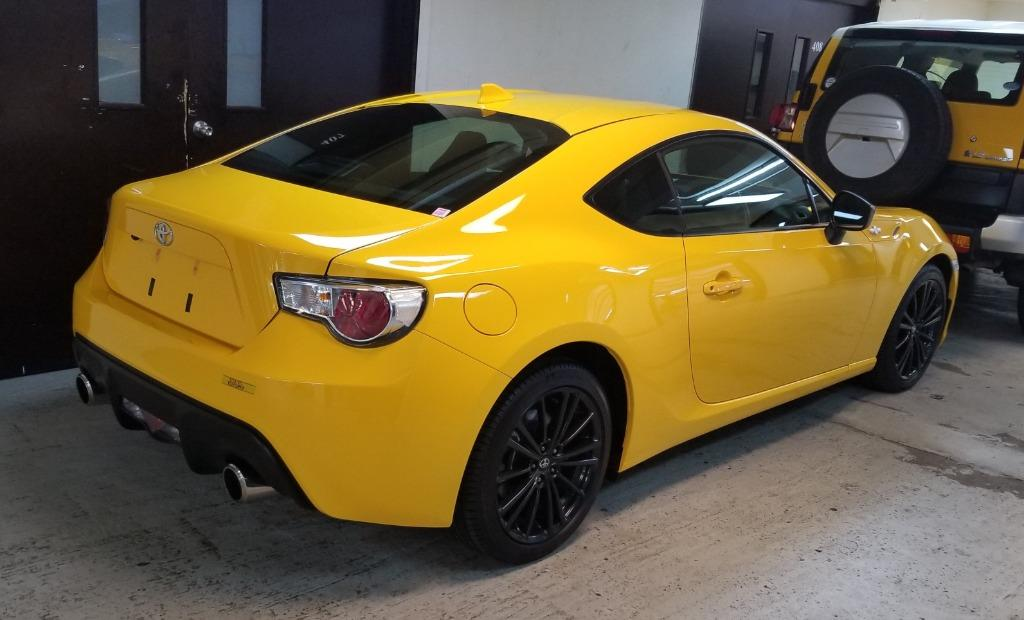 Toyota 86  GT Yellow Limited Manual