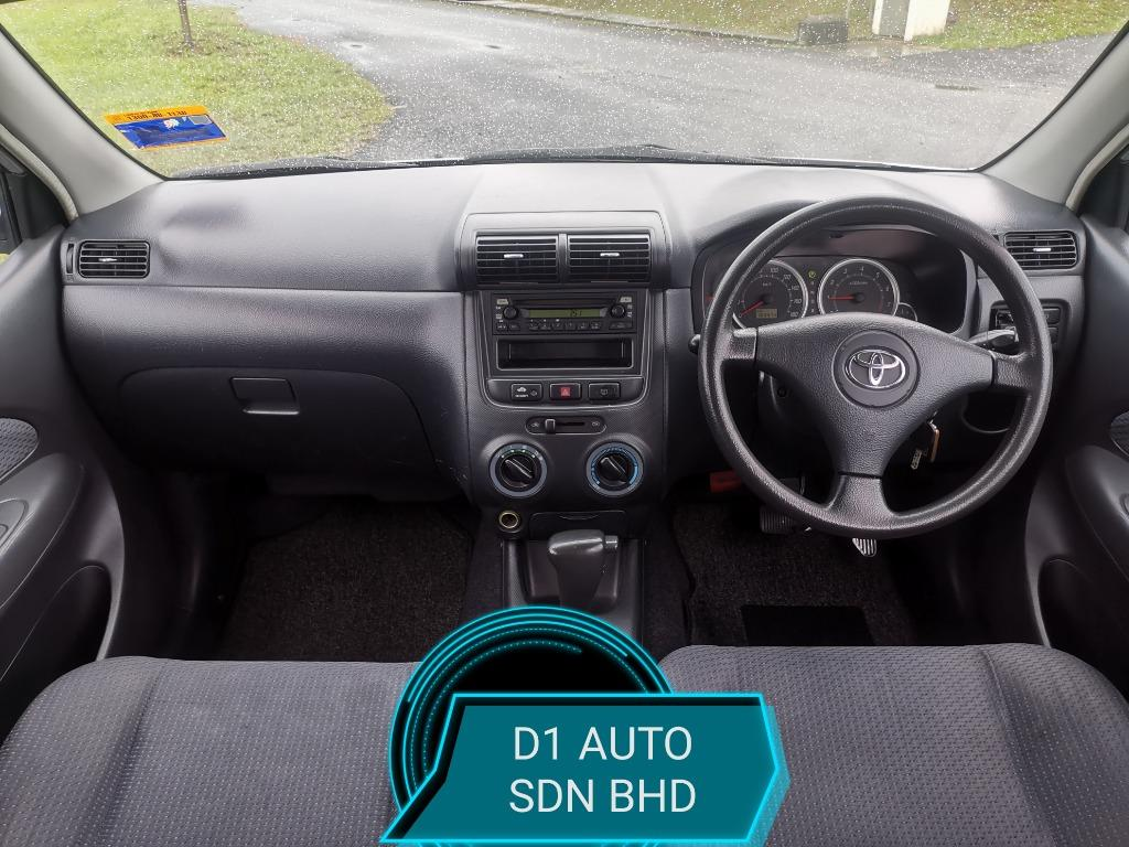 TOYOTA AVANZA 1.3 AT E-SPEC NEW PAINT NEW TIRE REAR AIR COND ALARM