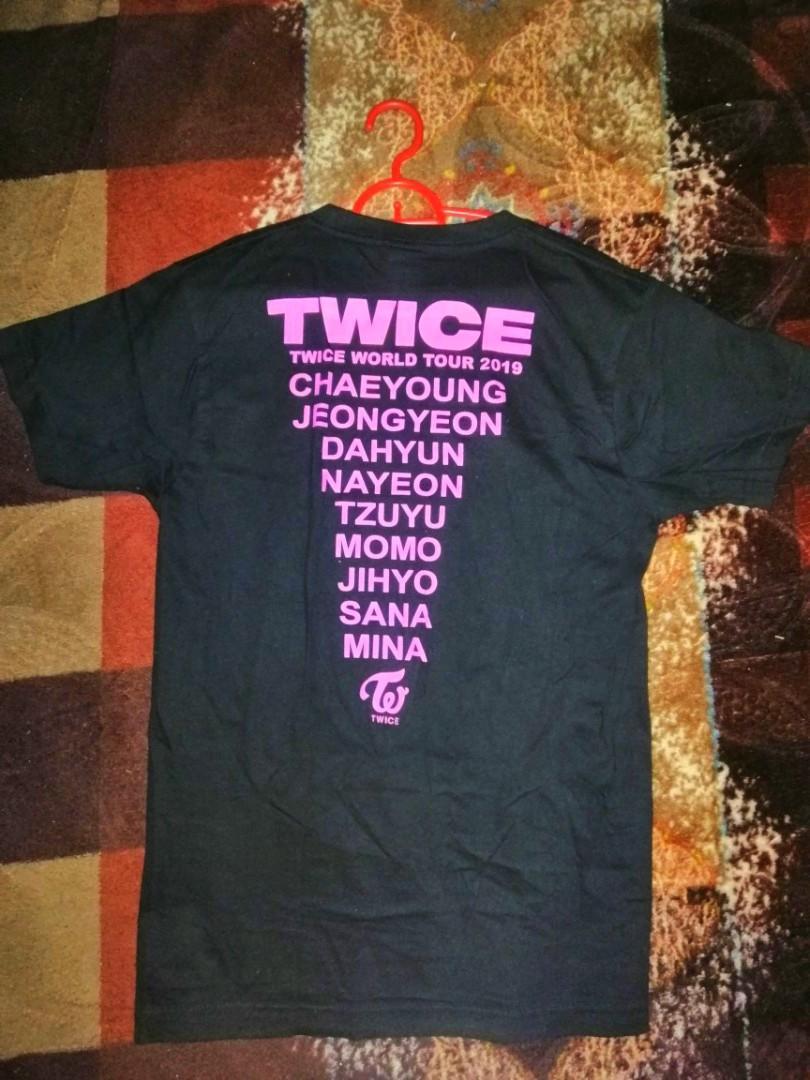 TwiceLights In Kuala Lumpur 2019 Fan's Shirt(Negotiable )