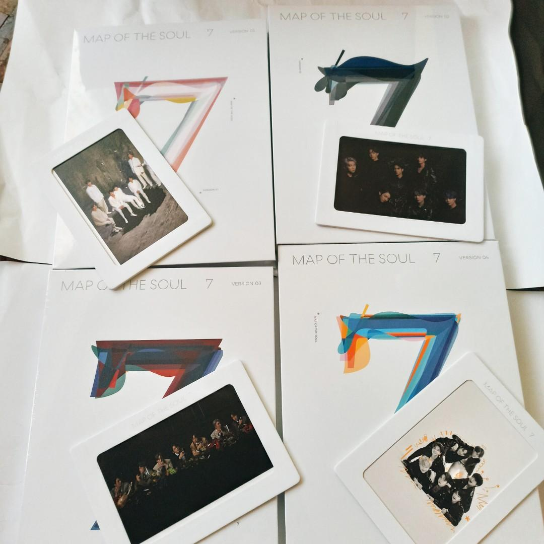 (WEPY EDITION) BTS MAP OF THE SOUL 7 (READYSTOCK-SEALED)