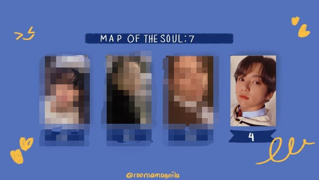 [WTB/LF] BTS Map of The Soul : 7 Jungkook Photocard