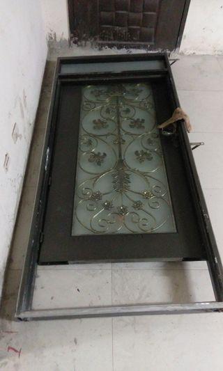 大門/鐵門/鑄鋁門/鋼木門/大門/白鐵門含框