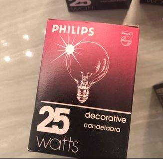 20x Philips Dimmable Decorative Bulbs (New & Used)