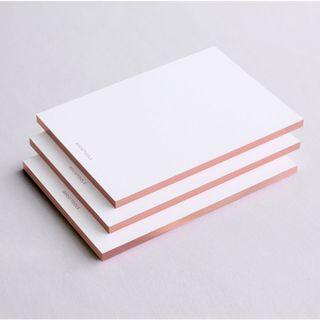 Bundle of 3 - The Dérive: Cream x Rose gold