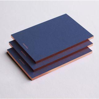 Bundle of 3 - The Dérive: Navy x Copper