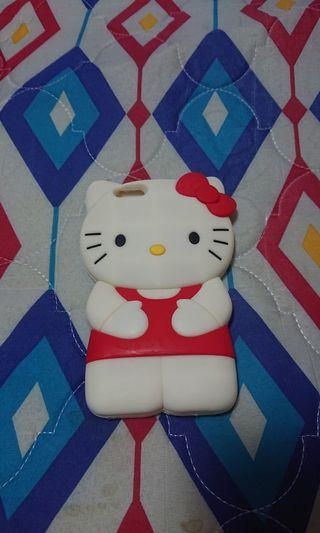 Preloved slightly used hello kitty silicone case fits for iPhone 6+ 6plus sony xperia xz2