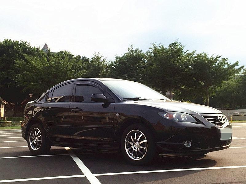 2005/Mazda/馬自達3/2.0cc/黑
