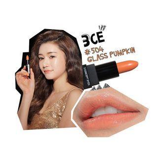 [3CE] 超顯色唇膏 #504 GLASS PUMPKIN 3.5g