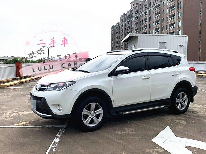 豐田 RAV4 2014 2.5 白色