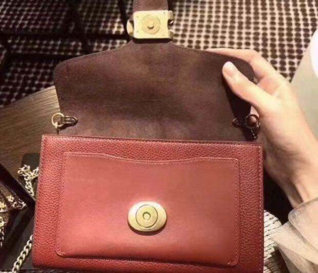 Authentic coach women tabby bag in red 79335 coach sling crossbody bag handbag 79355