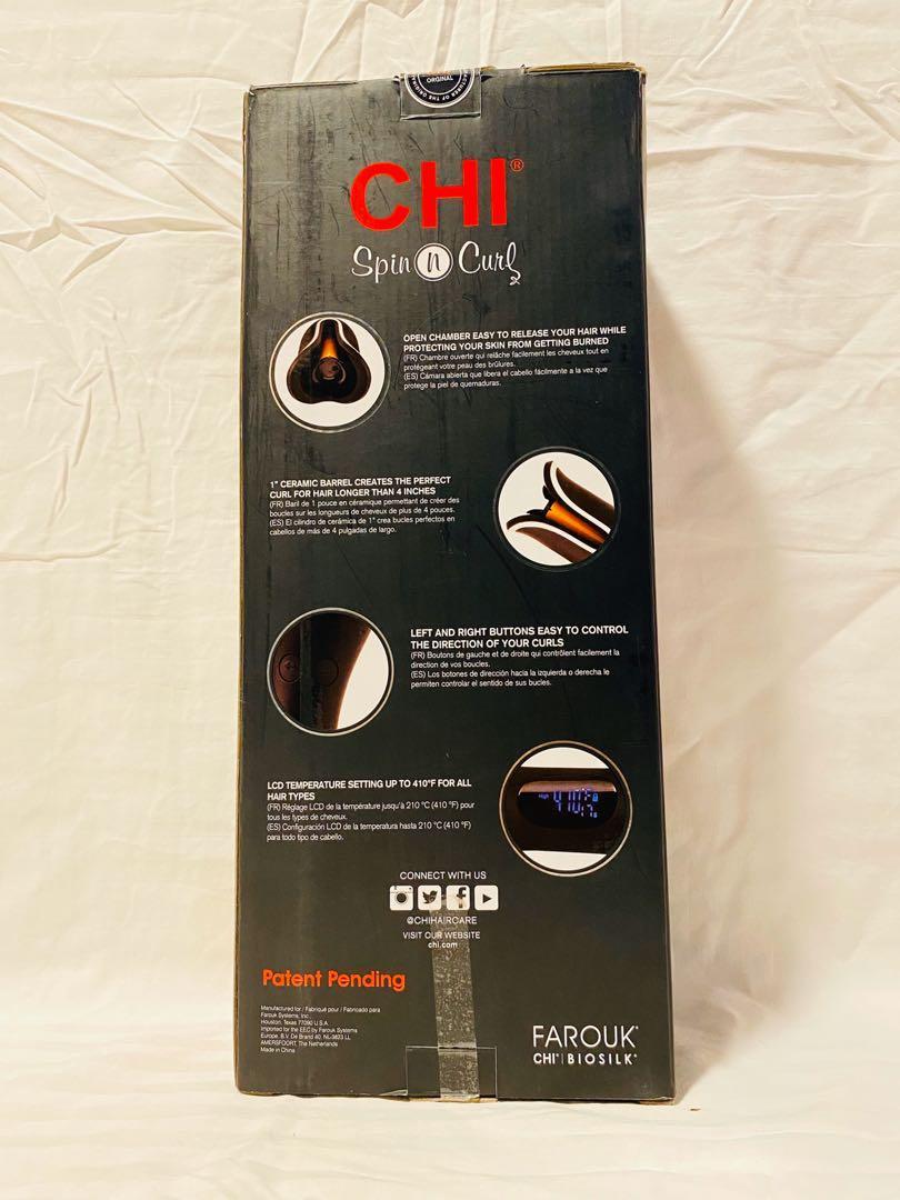 CHI Air Spin N Curl 1 Inch Ceramic Rotating Hair Curler