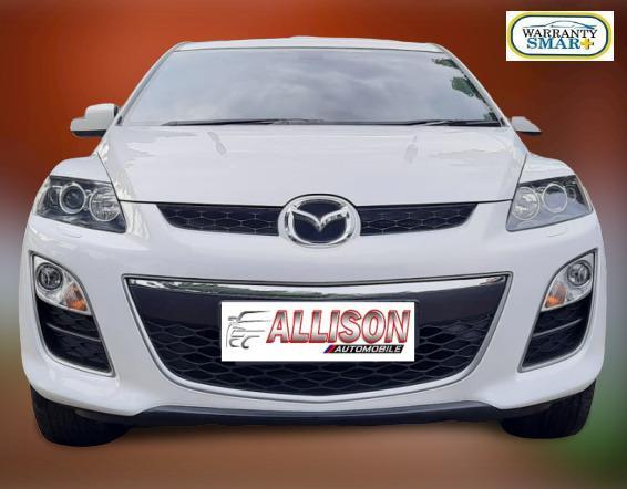 Mazda CX-7 GT 2.3 AT 2010 Putih, SunRoof,Dp 26,9 Jt, No Pol Genap